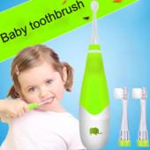 Зубная щётка детская. Электрическая. С фонариком