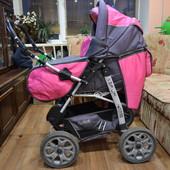 Детская коляска-трансформер  Viki Lux 2в1