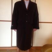Шикарное новое пальто, шерсть, кашемир, Италия, р.56-58