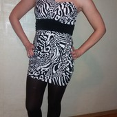 Красивое праздничное платье туника 36-38р