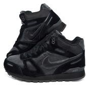 Зимние кроссовки Nike на меху, топ качества, 2 цвета