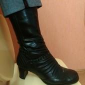 Продам женские зимние кожаные сапоги Carnaby