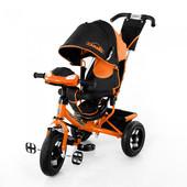 Велосипед Tilly Camaro T-362, фара, надувные колеса,оранжевый