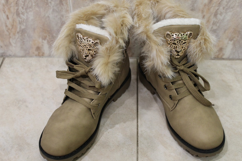 Классные женские ботинки р. 38, 39 Польша фото №1
