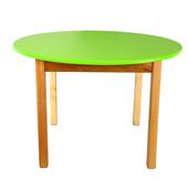 Детский деревянный столик с круглой столешницей Финекс в ассортименте
