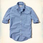 Стильная мужская рубашка Hollister, размер S, новая, стоила 50 дол