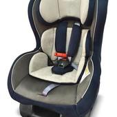 Бесплатная доставка! Детское автокресло (0-18кг) Wonderkids Crown Safe (серый/синий)