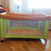 Яркий детский манеж-кровать JANE