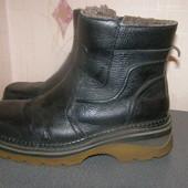 Мужские зимние ботинки кожзам 41р., стелька 26 см