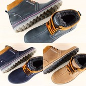 Зимние ботинки мужские Columbia натуральный нубук 3 цвета