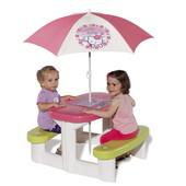 Стол с зонтиком для пикника Hello Kitty Smoby