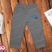 Теплые спортивные штаны на мальчика, 74 80 86 размер, утепленные, Турция