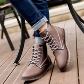 ботинки мужские осень