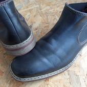 Фирменные ботинки Rieker размер 43-44 длина стельки-29,5