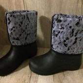 Сапоги сноубутсы ботинки Женские 38 размеры Акция