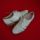 Туфли Clarks натур кожа 39-40 размер