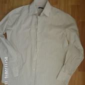 Sisley сорочка L 100%коттон