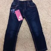 Утепленные джинсы для девочек на флисе , Taurus, 98-128 рр.