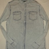 отличная мужская джинсовая рубашка от Stray, p.L