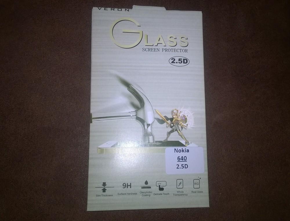 Защитное стекло на Lumia 640! фото №1