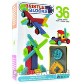Конструктор-бристл - Строитель (36 деталей, в коробке)