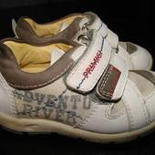 итальянские туфли-кроссовки Primigi 20 размер (вся стелька 13 см) в отл.сост