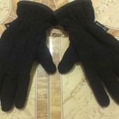 Отличные тёплые мужские перчатки Takko fashion, S-M