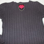 Итальянский свитер Diesel из шерсти мериноса.