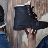 ботинки на меху зима р 38