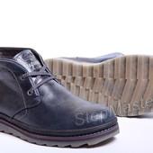Ботинки Clarks Desert Trek синие