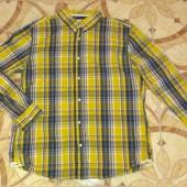 Качественная мужская рубашка Tcm Tchibo Германия Размер xxl