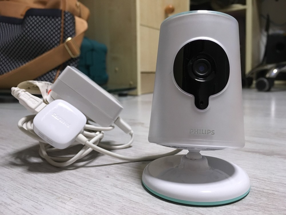 Видеоняня philips insight b120 с выводом на iphone/ipad фото №1