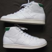 Adidas Stan Smith Mid (44, 28 см) кожаные кроссовки мужские