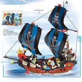 Конструктор Пиратская серия корабль пиратов 512 деталей Sluban M38-B0128