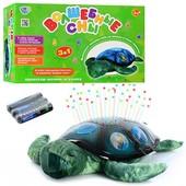 """Ночник проектор звездного неба """"Черепаха"""" - плюшевая мягкая черепашка"""