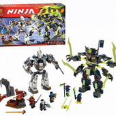 Конструктор Bela серия Ninja / Ниндзя 10399 757 деталей