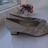 Туфли босоножки  Gabor  (Австрия) кожанные р.37