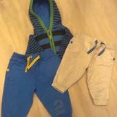 Спортивные штаны Marks&Spencer 6-9мес в отличном состоянии!