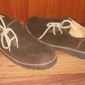 Туфли Ботинки *Moser* Стелька=29,5-30 см. Замш+Кожа