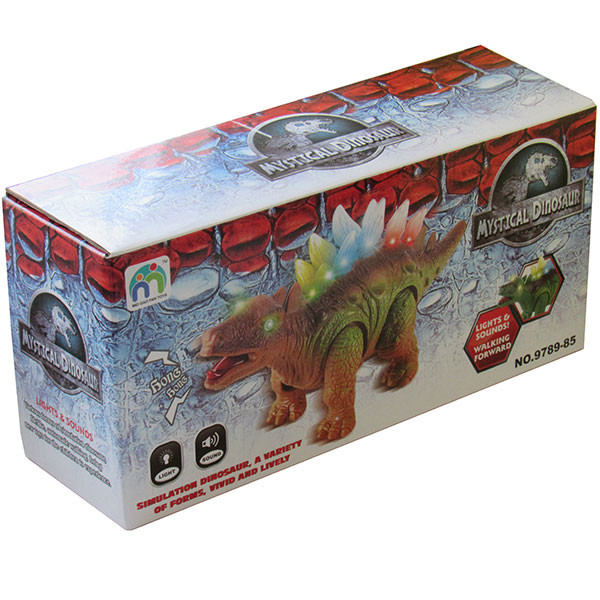 Динозавр на батарейках фото №2