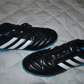 новые футбольные кроссовки Adidas оригинал футзалки сороконожки 30.5 см стелька