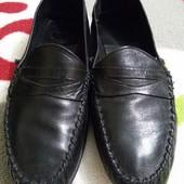 Крутые кожаные туфли от G.R.Gregg, размер 42