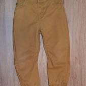 Горчичные джинсы - джоггеры на 4 года