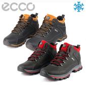 Мужские ботинки зима,кожа!