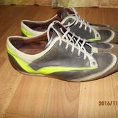 (№і154) кожаные кроссовки 41 р UK 7