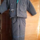 Зимний костюм куртка комбинезон