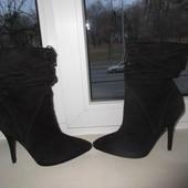 Замшевые ботинки Guess 39 р.