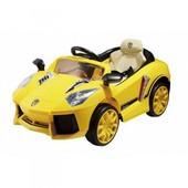 Детский электромобиль C1610 Lamborghini, желтый