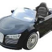 Детский электромобиль AUDI R-8 черный m 1639 r-2