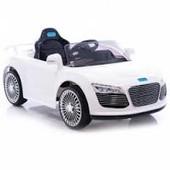 Детский электромобиль AUDI R-8 белый m 1639 r-1